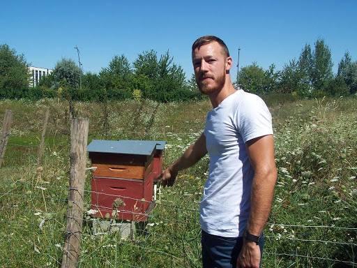Julien Debievre, chef du service patrimoine naturel